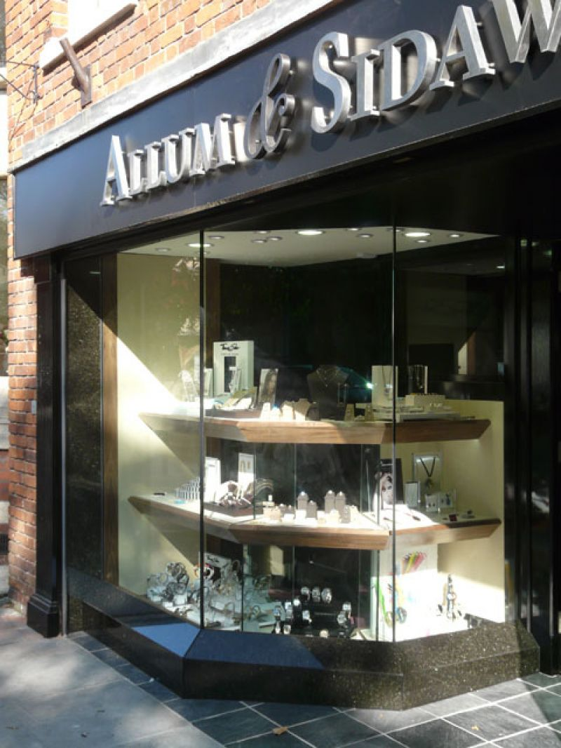 Allum and Sidaway Shopfront
